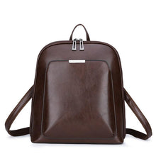 Load image into Gallery viewer, Women Backpack high quality PU Leather  Fashion Backpacks Female Feminine Casual Large Capacity Vintage Shoulder Bags - SaturnLoop Shops Sales