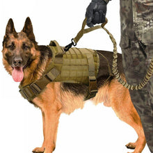 Load image into Gallery viewer, Tactical Dog Vest Breathable Military Dog Clothes - SaturnLoop Shops Sales