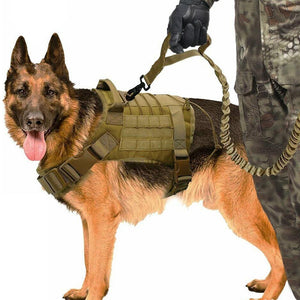 Tactical Dog Vest Breathable Military Dog Clothes - SaturnLoop Shops Sales