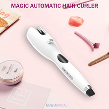 Load image into Gallery viewer, New Arrival LCD Full Automatic Hair Curler Curling Iron Air Curler Air Rotating Portable Air Spin N Wand Curl 1 Inch Hair Curler - SaturnLoop Shops Sales