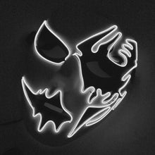 Load image into Gallery viewer, New Easter Halloween Led Luminous Rave Mask Terror EL Wire Haunted House Christmas Carnival Party Club Bar DJ lighting Mask - SaturnLoop Shops Sales