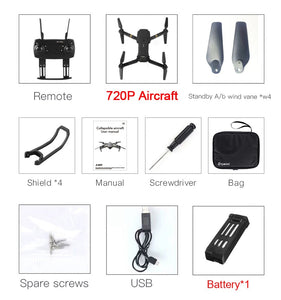 FreeShippping-E58 WIFI FPV With Wide Angle HD 1080P/720P/480P Camera Hight Hold Mode