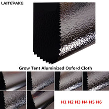 Load image into Gallery viewer, grow tent cloth 140*90 and DIY Custom size Oxford cloth aluminized film for led grow light indoor hydroponics greenhouse tent