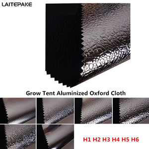 grow tent cloth 140*90 and DIY Custom size Oxford cloth aluminized film for led grow light indoor hydroponics greenhouse tent