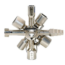 Load image into Gallery viewer, 10-in-1 Multi-function Electric Control Cabinet Triangle Key Wrench Elevator Door Valve - SaturnLoop Shops Sales