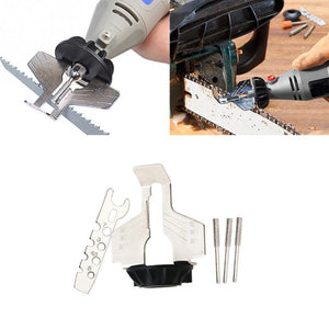 Sharpening Attachment, Chain Saw Tooth Grinding Tools Used with Electric Grinder Accessories for Sharpening Outdoor Garden Tool - SaturnLoop Shops Sales