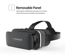 Load image into Gallery viewer, Shinecon 6.0 Casque VR Virtual Reality Glasses 3D Goggles Headset Helmet For Smartphone Smart Phone Viar Binoculars Video Game