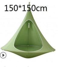 Load image into Gallery viewer, Free Shipping-UFO Shape Teepee Tree Hanging Silkworm Cocoon Swing Chair For Kids & Adults - SaturnLoop Shops Sales