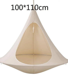 Free Shipping-UFO Shape Teepee Tree Hanging Silkworm Cocoon Swing Chair For Kids & Adults - SaturnLoop Shops Sales