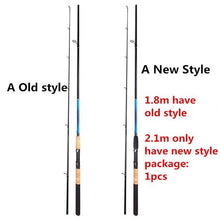 Load image into Gallery viewer, 2019 New M Power 1.8M 2.1m Carbon Fiber Spinning Lure Fishing Rod Portable Spinnng Rods Leurre Spinning Fishing - SaturnLoop Shops Sales