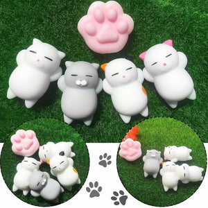 Free Shipping-Squishy Cute Animal Antistress Ball Toys for everyone - SaturnLoop Shops Sales