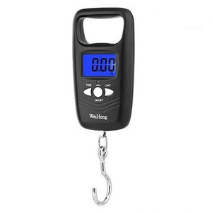 Hanging Fish Hook Balance 50kg Electronic Scale Luggage LCD Screen Handheld Household Tool Fishing Weighting Digital Display - SaturnLoop Shops Sales