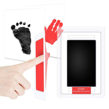Load image into Gallery viewer, Snailhouse Newborn Baby Handprint Footprint Ink Non-Toxic Touch Ink Pad DIY Photo Frame Souvenir Girl Boy Infant Decoration Toy - SaturnLoop Shops Sales