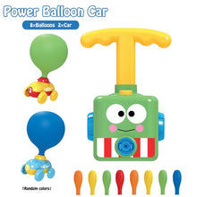 Load image into Gallery viewer, Education Science Experiment Toy Inertial Power Balloon Car Toy Puzzle Fun Inertial Power Car Balloon Toys for Children Gift