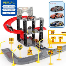 Load image into Gallery viewer, Free Shipping-Parking Toy:Set Three-dimensional Multi-layer Car,Assembly Rail Car Parent-child Interaction Gift - SaturnLoop Shops Sales