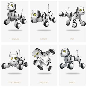 Free Shipping-Programable 2.4G Wireless Remote Control Smart animals toy,robot dog,popular baby toys 2020 - SaturnLoop Shops Sales