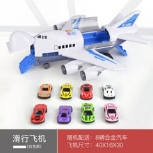 Load image into Gallery viewer, Toy Aircraft Music Story Simulation Track Inertia Children'S Toy Aircraft Large Size Passenger Plane Kids Airliner Toy Car