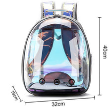 Load image into Gallery viewer, Free shipping Cat bag Breathable Portable Pet Carrier Bag Outdoor Travel backpack for cat and dog Transparent Space pet Backpack
