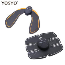 Load image into Gallery viewer, EMS Hip Trainer Muscle Stimulator ABS Fitness Buttocks Butt Lifting Buttock Toner Trainer Slimming Massager Unisex - SaturnLoop Shops Sales
