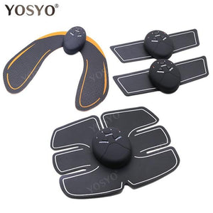 EMS Hip Trainer Muscle Stimulator ABS Fitness Buttocks Butt Lifting Buttock Toner Trainer Slimming Massager Unisex - SaturnLoop Shops Sales