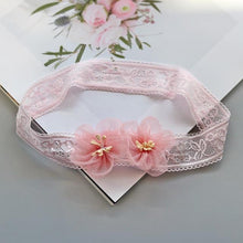 Load image into Gallery viewer, Baby Headband Flower Girls Bows Toddler Hair Bands for Baby Girls Kids Headbands Turban Newborn Haarband Baby Hair Accessories - SaturnLoop Shops Sales
