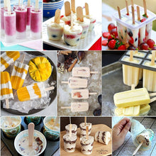 Load image into Gallery viewer, 50Pcs/Lot Wooden Craft Ice Cream Sticks Pop Popsicle Sticks Natural Wood Cake Tools DIY kids Handwork Art Crafts Toys - SaturnLoop Shops Sales