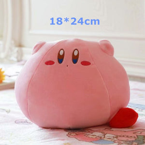 New Game Kirby Adventure Kirby Plush Toy Soft Cartoon Doll Pillows Stuffed Animal Toys for Children Birthday Gift Home Decor