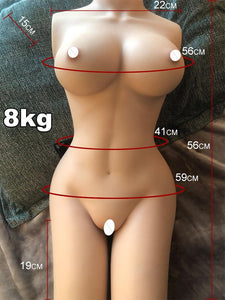 8Kg Oversized Sex Doll 3D Masturbator Masturbate Sex Toy 1:1 Life-size Leg Joints Can Move Realize Any Erotic Position Half body - SaturnLoop Shops Sales