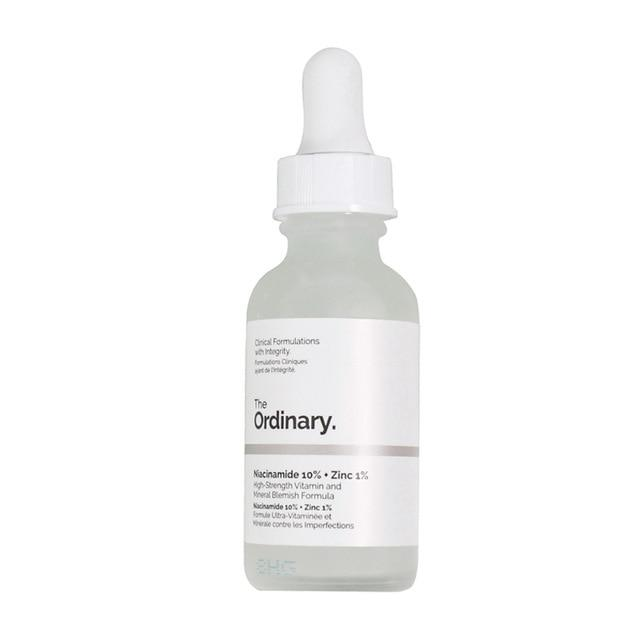 The Ordinary Niacinamide 10% + Zinc 1% Face Shrink pores Serum Oil control Moisturizing Whitening Reduce Skin Blemishes Base - SaturnLoop Shops Sales