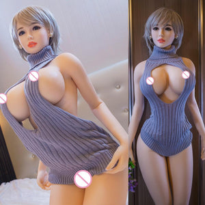 Linkooer 170cm Real Silicone Sex Dolls Senior Secretary Love Doll Realistic Sexy Toys For Men Big Breast Ass Vagina Oral Anus - SaturnLoop Shops Sales