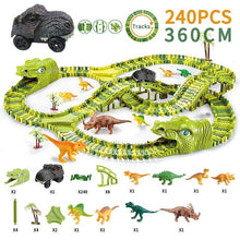Load image into Gallery viewer, Free Shipping-Dinosaur Railway Toy,Car Track Racing Track Toy For Children Boys - SaturnLoop Shops Sales