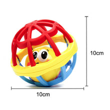 Load image into Gallery viewer, Bearoom Baby Rattles Mobiles Fuuny Baby Toys Intelligence Grasping Gums Soft Teether Plastic Hand Bell hammer Educational Gift