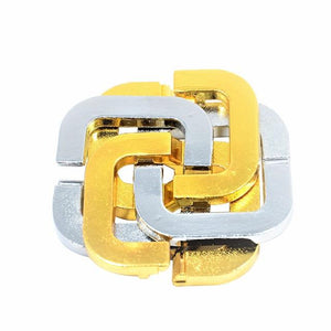 33 styles Brain game toy IQ Test Lock Brain Teaser Alloy Metal Puzzles Games puzzles toy Kids Adults Intelligent Toys Can You? - SaturnLoop Shops Sales