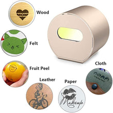 Load image into Gallery viewer, Mini Compact Laser Engraving Machine Wood Router Handheld DIY Home Desktop Laser Engraver for Marking Lettering Printing Tools