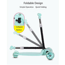 Load image into Gallery viewer, Children's Scooter Kids Scooter 3 In 1 Balance Bike Children's Tricycle Scooter for Kids Ride On Toys Flash Folding Baby Car - SaturnLoop Shops Sales