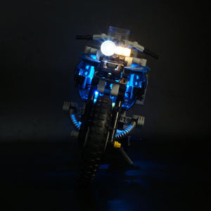 USB Powered LED Lighting Kit For BMW R 1200 GS Adventure 42063 (LED Included Only, No Kit)For Children Kid Educational Toys Gift