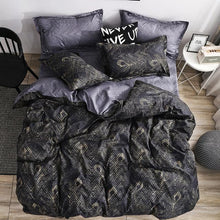 Load image into Gallery viewer, New Arrival 3pcs Bedding Set Marble Geometric Duvet Cover Sets With Pillowcase Quilt Cover Double sided Bed Linings Bedclothes - SaturnLoop Shops Sales