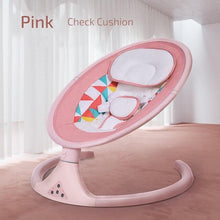 Load image into Gallery viewer, Baby Shining Smart Electric Baby Cradle Crib Rocking Chair Baby Bouncer Newborn Calm Chair Bluetooth with Belt Remote Control - SaturnLoop Shops Sales