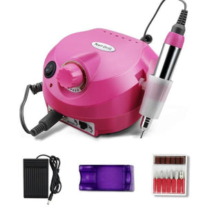 Professional Manicure Machine 30000/20000 RPM Electric Nail Drill Machine Manicure Cutters Apparatus for Manicure and Pedicure - SaturnLoop Shops Sales