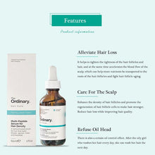 Load image into Gallery viewer, The Ordinary Polypeptide Hair Growth Essence Increase Dense Hair Prevent Hair Loss Nourish Control Oil Repair Scalp Health Serum - SaturnLoop Shops Sales