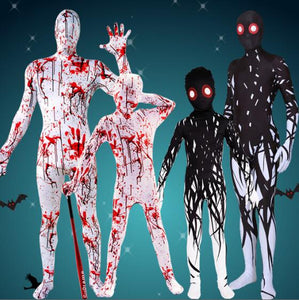 Halloween Costumes for Children Horror Zombies Boy Girl Skeleton Dress up Fantasy Clipart Jumpsuit Kids Onesie Monster Costume - SaturnLoop Shops Sales