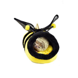 Small Animal Bed Hamster Plush Pet House Guinea Pigs Hamsters Bed Hedgehogs Rabbits Dutch Rats Super Hamsters House Cute Warm - SaturnLoop Shops Sales