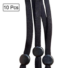 Load image into Gallery viewer, Adjustable Face Mask Lanyard Handy&Convenient Safety Mask Rest&Ear Holder Rope Costumes Cosplay Accessories Facemask New Black - SaturnLoop Shops Sales