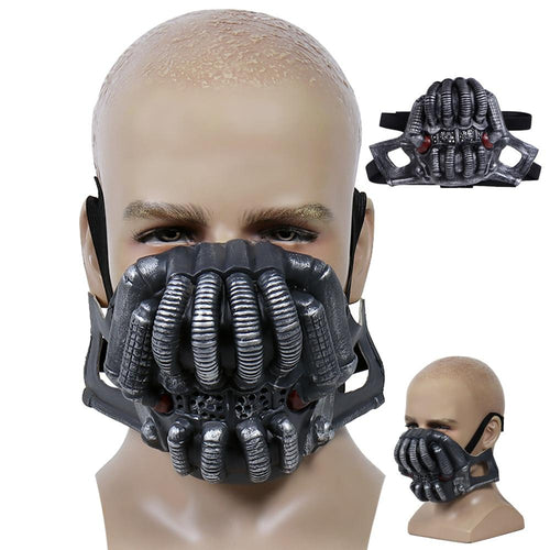Bane Masks Batman The Dark Knight Rises Costume Mascarillas Anime Cosplay Face Masks Latex Mask Halloween Party Props Masques - SaturnLoop Shops Sales