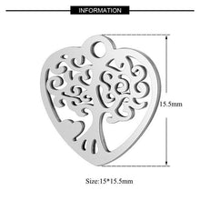 Load image into Gallery viewer, 5pcs/lot 100% Stainless Steel Dog Paw Cat Animal Charm Wholesale Sun Om Connector Yoga Lotus Heart DIY Charms for Jewelry Making - SaturnLoop Shops Sales