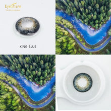 Load image into Gallery viewer, EYESHARE 2pcs/Pair KING Series Colored Contact Lenses  Cosmetic Contact Lense Eye Color - SaturnLoop Shops Sales