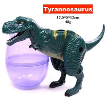Load image into Gallery viewer, Simulation Dinosaur Toy Egg Set for Boy Action Play Figure Animal Transform Model Jurassic Park Dragon Tyrannosaur for Children - SaturnLoop Shops Sales