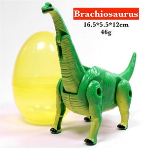 Simulation Dinosaur Toy Egg Set for Boy Action Play Figure Animal Transform Model Jurassic Park Dragon Tyrannosaur for Children - SaturnLoop Shops Sales