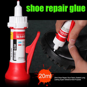 20ml Quick Dry Portable Home Universal Traceless Leather Fabric Sealers Waterproof Multi Purpose Super Adhesive Shoe Repair Glue - SaturnLoop Shops Sales