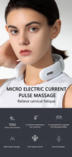 Load image into Gallery viewer, Smart Electric Neck Massager Shoulder Body Massager Low Frequency Magnetic Therapy Pulse Pain Relief Tool Health Care Relaxation - SaturnLoop Shops Sales